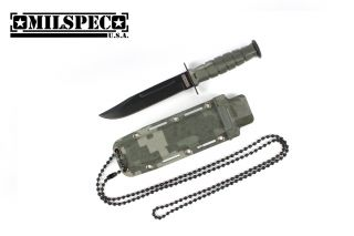 "6"" Marine Camo Survival Combat Knife Letter Opener with Sheath Brand New"
