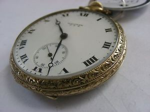 Nice Waltham 17 Jewel 12S Fahys Gold Case Runs Perfectly Good Time