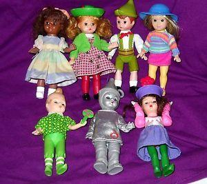 Lot of 7 McDonalds Madame Alexander Dolls Wizard of oz Jump Rope Hansel