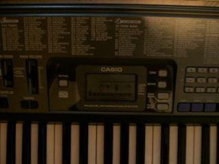 Casio CTK 720 Electronic Keyboard Digital Piano w Adapter