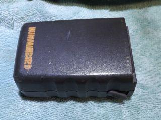 Humminbird Marine Band VHF5 Handheld Portable Radio Battery Used