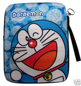 Brand New Official Doraemon Laptop Notebook Bag 10""