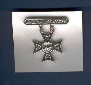 US Marine USMC Rifle Sharpshooter Badge Qualification