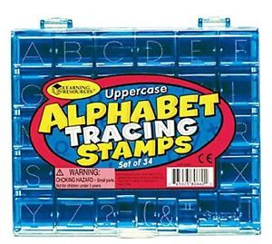 Learning Resources Uppercase Alphabet Tracing Stamps