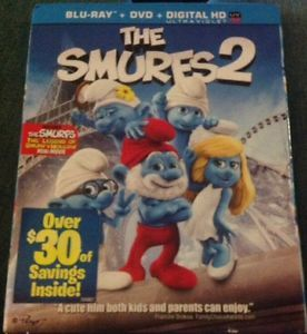 The Smurfs 2 Blu ray DVD, 2013, 2 Disc Set, Includes Digital Copy UltraViolet