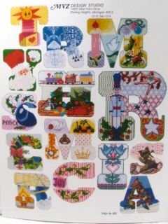 Merry Christmas Banner Cross Stitch Pattern Book MVZ
