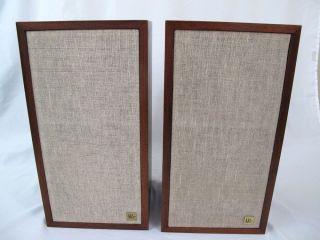 Pair Vintage Acoustic Research AR 4X Speakers Loudspeakers