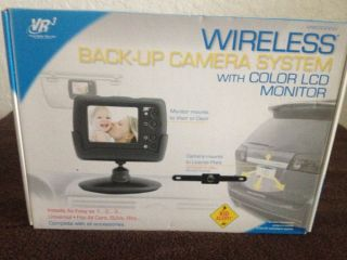 VR3 Wireless Backup Camera System with Color LCD Monitor
