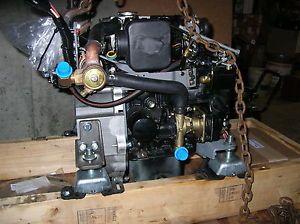 New Mitsubishi 18HP Marine Diesel Engine L2E vs Westerbeke