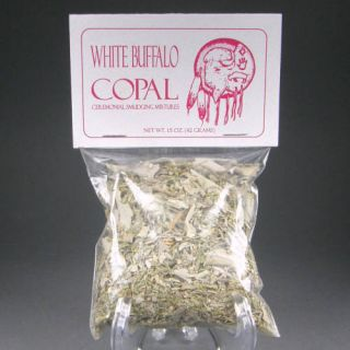 Spirit Dancer White Buffalo Copal Smudging Mix HRB10