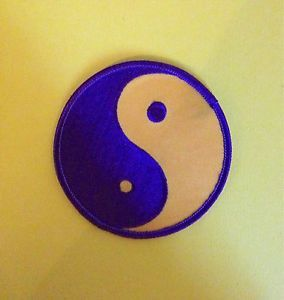Vintage Yin Yang Judo MMA Jiu Jitsu Karate Tae Kwon do Martial Arts Patch B