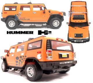 1 14 RC Hummer H2 SUV Radio Remote Control Car Rechargeable Battery Operated Toy