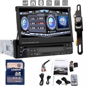 "Cam 7"" HD Digital Screen Car GPS Nav Stereo DVD Player Radio Bluetooth iPod Pip"