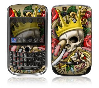 WL1 Blackberry Bold Decal Skin Sticker Cover Traditional Tattoo 1