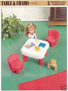 Plastic Canvas Doll House Patterns