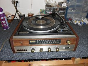 Fisher 125B Component System Turntable FM Am Stereo Receiver Heavy Unit