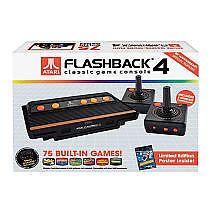 Atari Flashback 4 Plug Play Classic Game Console Retro System 75 Games