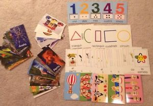 Baby Einstein Discovery Cards Español Numeros Formas Animales 96 Flash Cards 0786809396