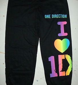 One Direction Sweatpants Woman Ladies Youth Girls Boy Band Fan