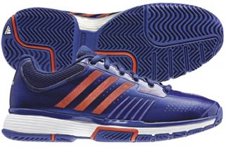 Adidas adiPower Barricade 7 0 Womens Tennis Shoe Ink Blue Core Energy White