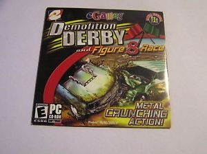 Demolition Derby and Figure 8 Race New PC Game E3R