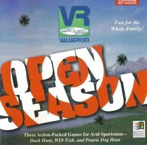 Open Season PC CD Fishing Prairie Dog Duck Hunt Game
