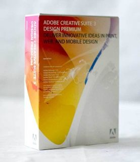 Adobe Creative Suite 3 CS3 Design Premium Mac Full Version with Serial Number
