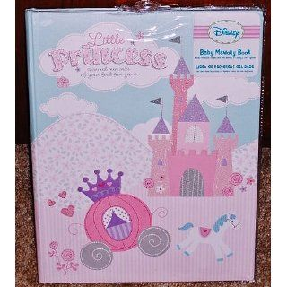 Disney Little Princess Baby Memory Book Pink