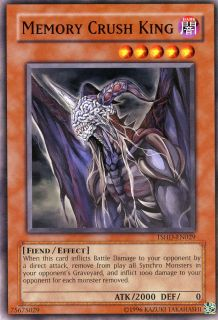 Yugioh Memory Crush King Common TSHD EN029 X3