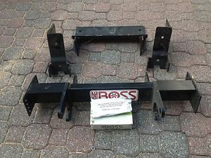 Boss Snow Plow Frame with Mounting Kit
