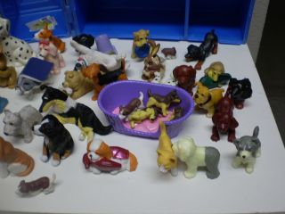 Littlest Pet Shop Splash Happy Puppies Kennel Care Center 43 Dogs 7 Cats 4 Bunny
