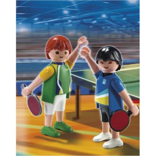 Playmobil High Performance Athletes Table Tennis Players