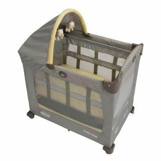 Graco Baby Travel Lite Portable Crib w Stages Bassinet Peyton 1843727