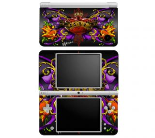 WL3 Nintendo DS DSi 3DS XL Decal Skin Sticker Cover Traditional Tattoo 3