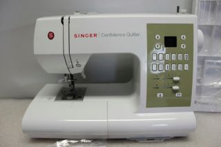 Singer Confidence Quilter Sewing Machine w Extension Table 7469Q New