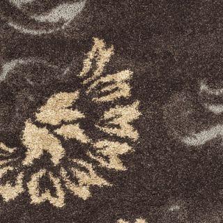 Safavieh Florida Shag Dark Brown/Smoke Rug