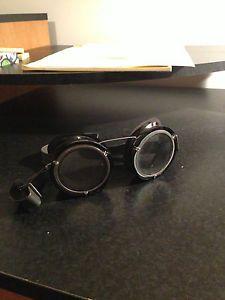 Vintage Steampunk Motorcycle Pilot Safety Goggles Glasses Aviator Rat Hot Rod