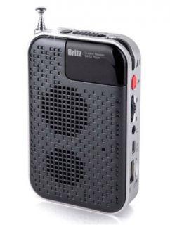 Britz Ba S2 Portable Outdoor  Player FM Radio Speaker Mirco SD USB Supported