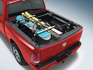 Dodge Chrysler Jeep RAM Roof Rack Mount Ski Snowboard Carrier Universal Mopar OE