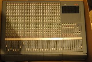 Tascam M 2600 24 Channel Mixing Console Mixer Audio Recording Studio
