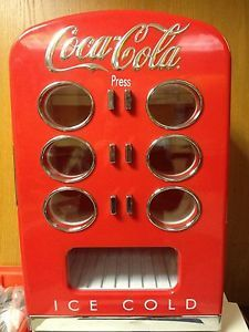 Refurbished Coca Cola 12 Can Vending Machine