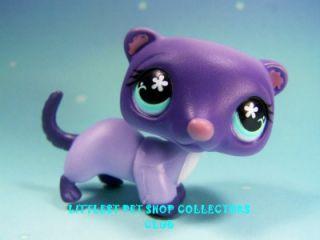 Littlest Pet Shop Cozy Care Center Purple Ferret Lot 482 Super RARE Brand New