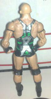 Mattel Custom Elite Ryback Skip Nexus WWE ROH WWF TNA