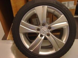 Mercedes Benz Winter Wheel Tire Package w Sensors E Class Sedan W212 2010 Up