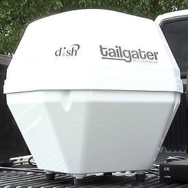 Dish Network Tailgater Portable Mobile Satellite TV RV Camping 211 411
