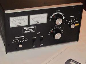 Ameritron Al 80A High Power Linear Amplifier Ham Radio Amp with Manual