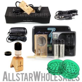 Magic Flight Launch Box Vaporizer Kit w MFLB Water Power Adapter 2 0 More