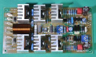 380 Watts RMS 8 Ohm Bi Polar Class AB Drive Power Amplifier Board Assemble