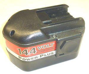 NOS Milwaukee Tools 14 4V Volt Power Plus NiCd Battery Cat No 48 11 1024