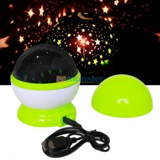 New Romantic Gift Beautiful Sky Stars Cosmos Laser Projector Night Light Lamb